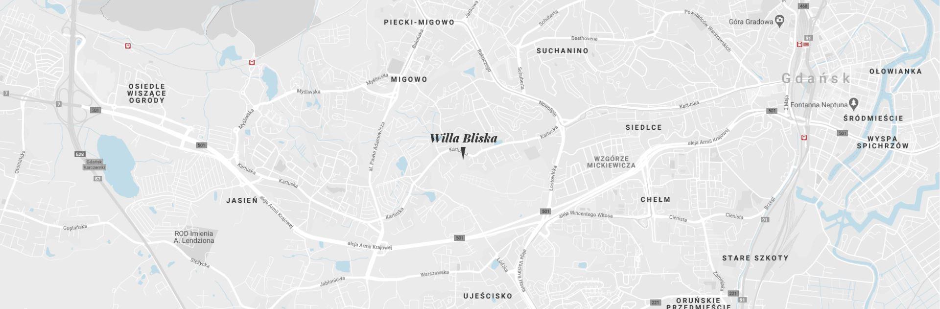 Home - Lokalizacja Willi Bliska